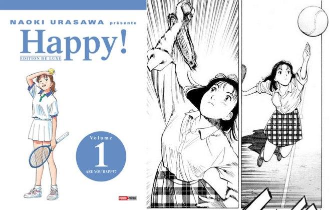 Happy !, deluxe de Naoki Urasawa – Les Blablas de Tachan